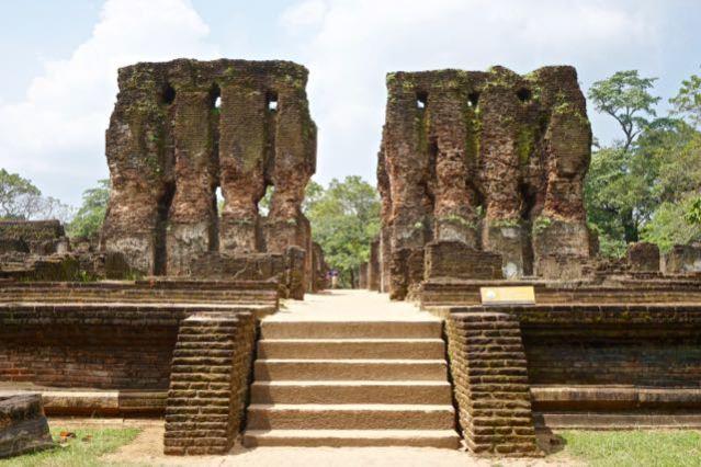 Visiting ancient city Pollonaruwa Sri Lanka - Royal Palace
