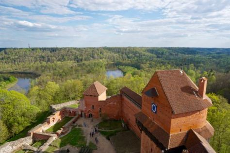 3 days in Riga Latvia - Things to do - day trip to Sigulda - Turaida Castle