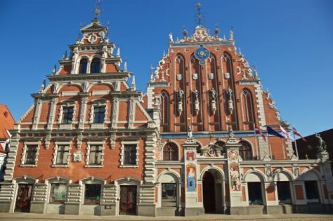 3 days in Riga Latvia - Things to do - Old Town - House of Blackheads