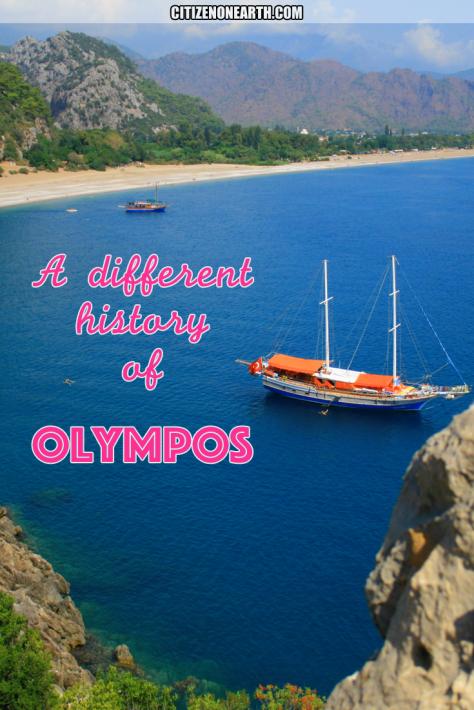 Summer vacation in Olympos - Mediterranean Sea - Antalya - Turkey