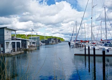 Things to do in Rügen Island in Baltic Sea in North East Germany - Lauterbach Harbour