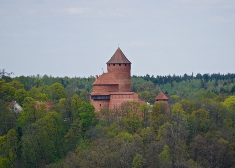 Day trip from Riga to Sigulda - Views of Turaida Castle from Sigulda Medievel Castle