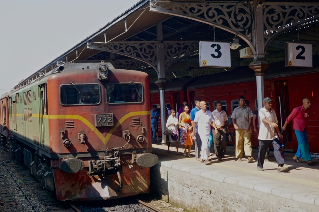 2 days in Kandy Central Province of Sri Lanka - Kandy Train Station to catch the scenic train ride in Hill Country