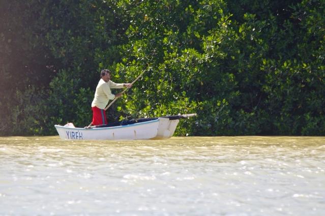 Things to do in 2 days in Merida - Yucatan Peninsula - Mexico - Fisher in Celestun River