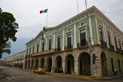 Things to do in 2 days in Merida - Yucatan Peninsula - Mexico - Palacio de Gobierno- Goverment Building