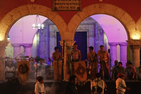 Things to do in 2 days in Merida - Yucatan Peninsula - Mexico - Plaza Grande de Merida - Traditional Eastern Celebrations