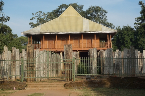 Visiting Ancient City of Anuradhapura in Sri Lanka - Brazen Palace Lovamahapaya