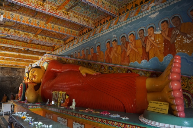 Visiting Ancient City of Anuradhapura in Sri Lanka - Buddha Statue