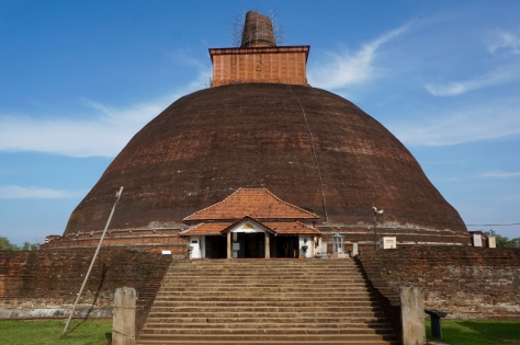 Visiting Ancient City of Anuradhapura in Sri Lanka - Jetavanarama Dagoba