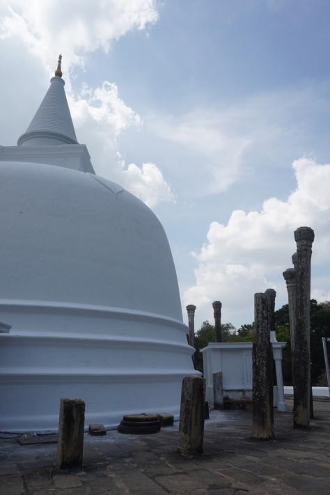 Visiting Ancient City of Anuradhapura in Sri Lanka - Mirisawati Dagoba