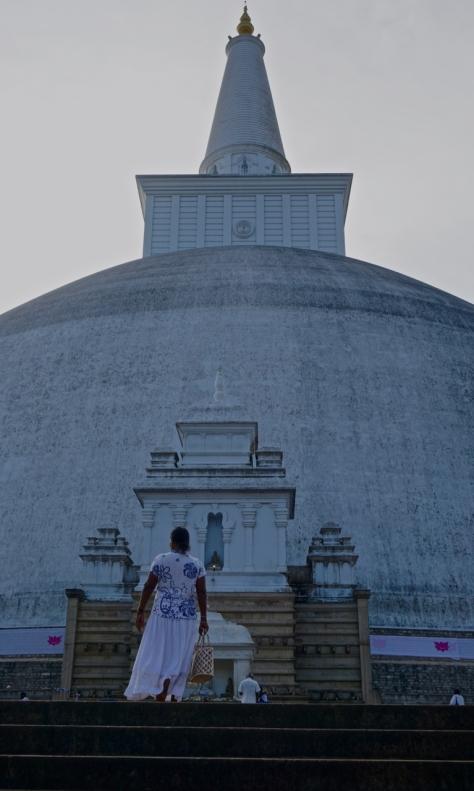 Visiting Ancient City of Anuradhapura in Sri Lanka - Ruwanweliseya