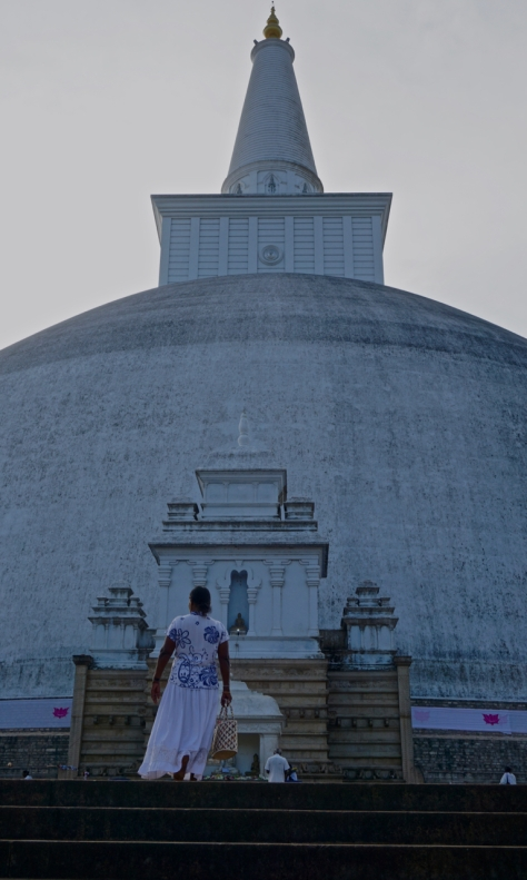 Visiting Ancient City of Anuradhapura in Sri Lanka - Ruwanweliseya