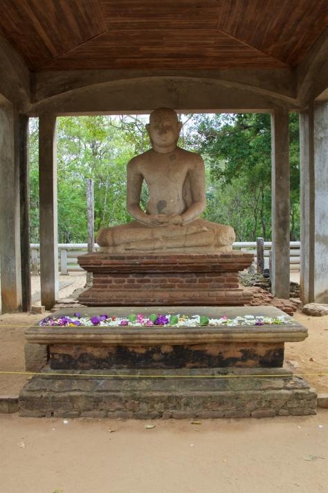 Visiting Ancient City of Anuradhapura in Sri Lanka - Samadhi Buddha