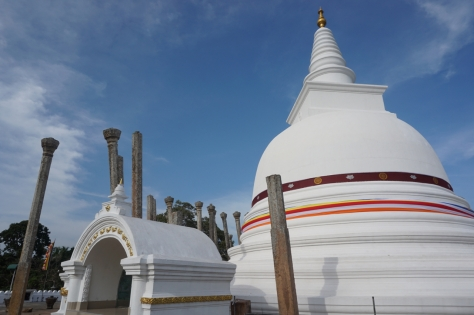 Visiting Ancient City of Anuradhapura in Sri Lanka - Thuparamaya Dagoba