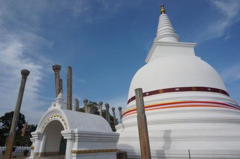 Visiting Ancient City of Anuradhapura in Sri Lanka - Thuparamaya Dagoba