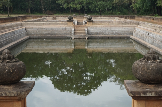 Visiting Ancient City of Anuradhapura in Sri Lanka - Twin Ponds Kuttam Pokuna