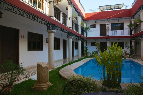 Where to stay in Valladolid Mexico Yucatan - La Aurora Hotel Colonia