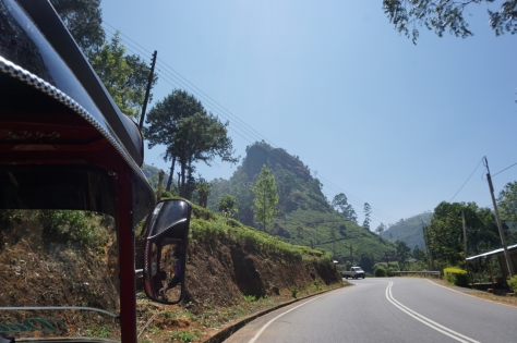 2 days in Nuwara Eliya Hill Country Sri Lanka Driving around with tuk tuk to visit tea estates and see waterfalls