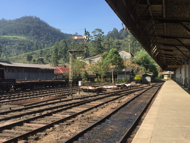 2 days in Nuwara Eliya Hill Country Sri Lanka - Train Station to go to Nuwara Eliya is called Nanu Oya