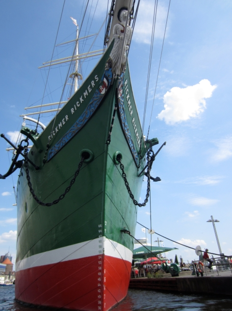 Insider Travel Guide to Hamburg - Germany - Museums of Hamburg - Rickmer Rickmers Ship Musuem