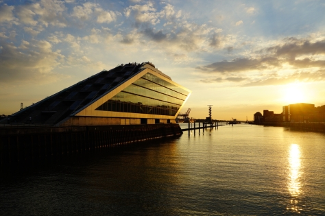 Insider Travel Guide to Hamburg - Germany - Panoramic View of Hamburg - Sunset in Dockland