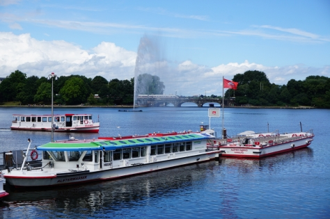 Insider Travel Guide to Hamburg - Germany - Things to do in Hamburg - Jungernstieg and Inner Alster